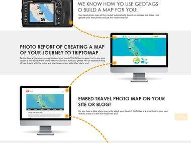 "The design of the tourist portal ""Trip to Map\"""