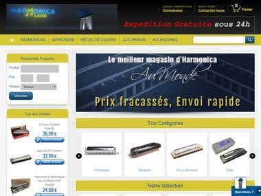 Harmonicaland.com
