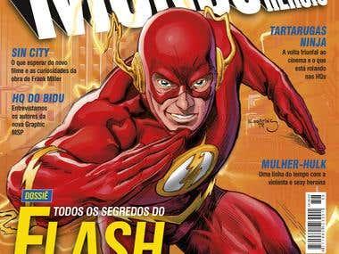 Mundo dos Super Neróis Cover Magazine