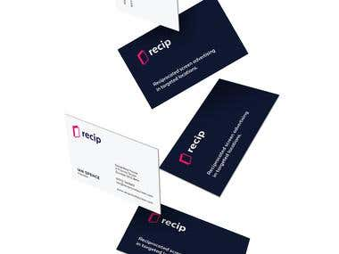 Recip - Branding/Business Card