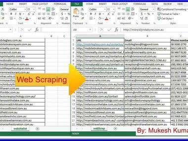 E-Commerce Web Site Scrapping