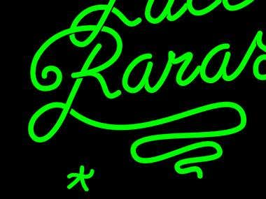 Logotipo Luces Raras
