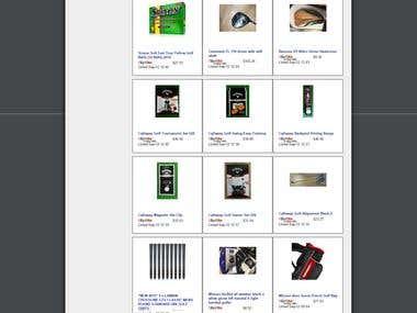 eBaay store design