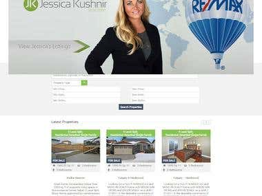 Realtor Website.