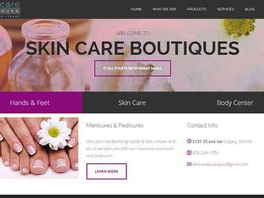 Beauty Center Website