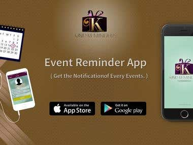 Event Management & Notification App