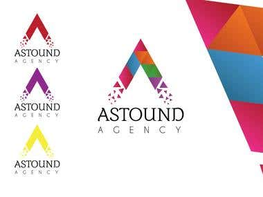Logo for Astound Agency