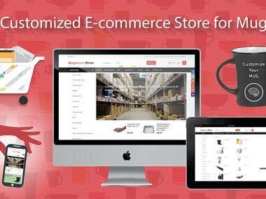 Magento Customize E-commerce Store