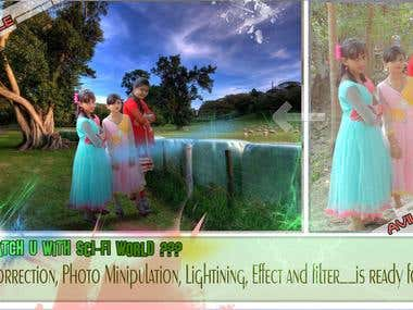 Manipulation,color Correction, Effects