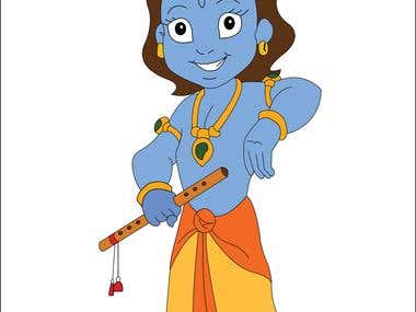 Lord Krishna Childhood