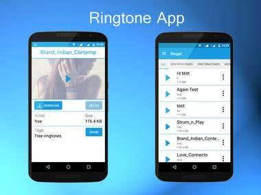 Ringtone App