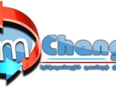 логотип amChange