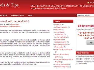 SEO for a Blog