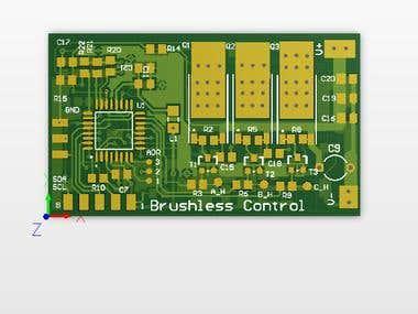 BLDC Motor Control Board