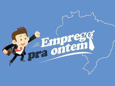 Website WordPress - Portal de Empredos - EmpregopraOntem