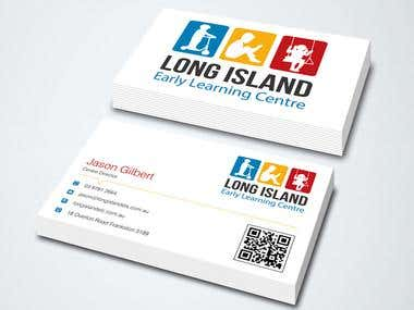 Business Card Design for Long Island