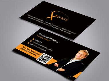 Business Card Design for xenos