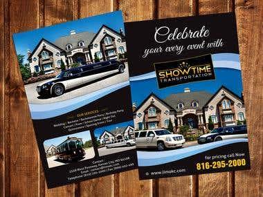 Flyer Design for showtime