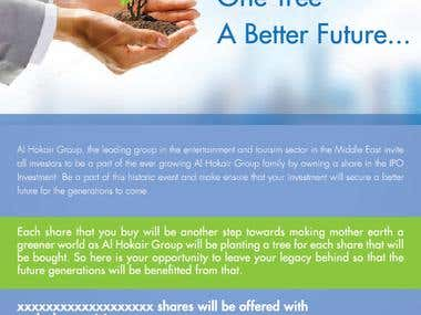 IPO Campaign Pitch for Alhokair Group Dubai