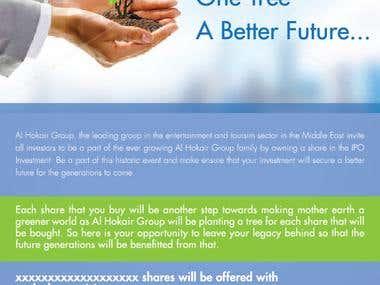 IPO Campaign Pitch for Alhokair Group Dubai