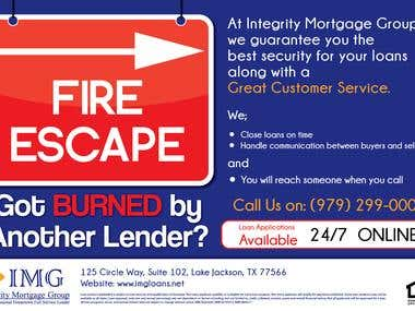 IMG Loans Press Ads