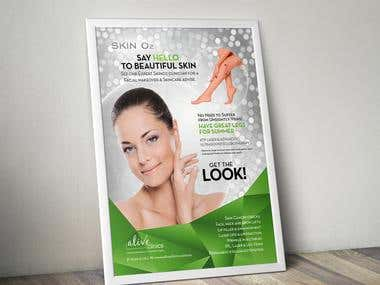 Skin O2 Posters