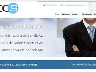 Site WordPress - Corretora de Seguros
