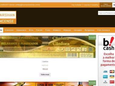 Ecommerce Woocommerce WordPress para Incensos