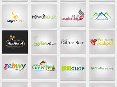 Logo Port folio of my company