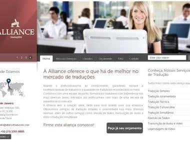 WordPress Institucional Empresa de Serviços