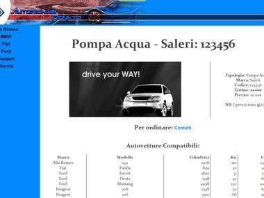 Web Site - www.AutoricambiDonato.it
