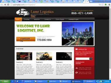 Lamr Logistics Website