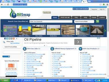 Oil Swap classified site