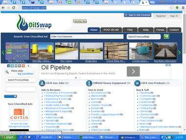 Oil Swap classified site