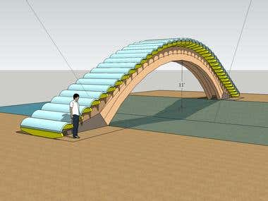 3D Foot Bridge