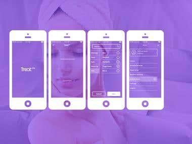 Treat.me UX Design