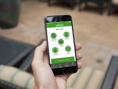 Golfler Mobile App UI Design