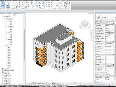 Building model according to deshidh construction