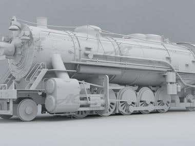 Train Engine Model