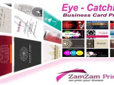Designed Banner For Printing website