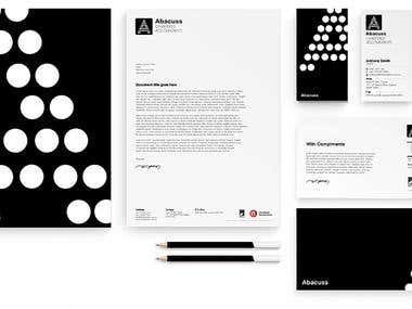Abacus - Branding/Stationary Design