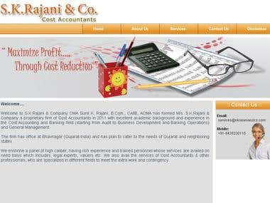 Web Designing & Web Application Development