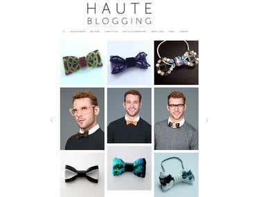 Haute Blogging - Website
