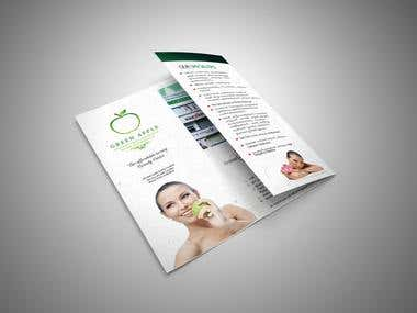 Green apple brochure