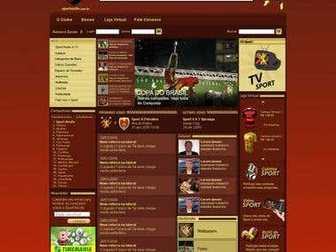 Layout Sport Recife