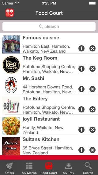 online Food Ordering application