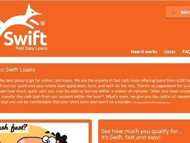 Money lending website