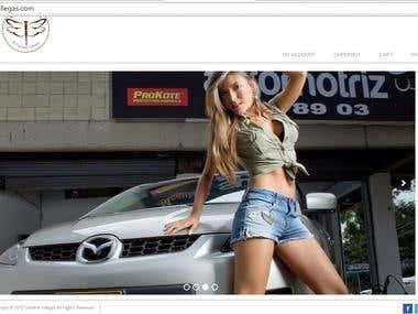 E-Commerce Website - Wordpress