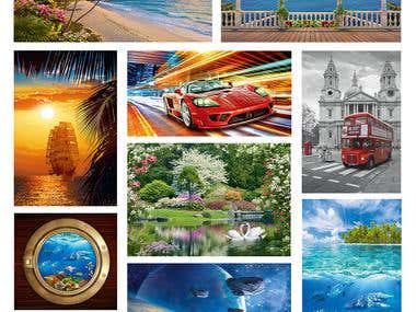Photo Wallpapers design