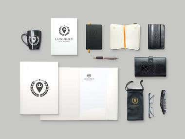 Luxurily Corporate Identity Designs